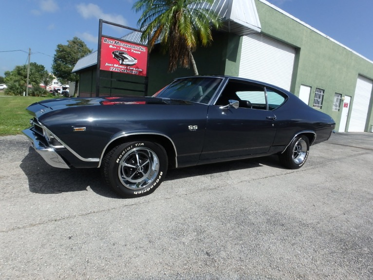 Used 1969 Chevy Chevelle SS396 for sale $24,900 at Rose Motorsports, Inc. in Fort Myers FL