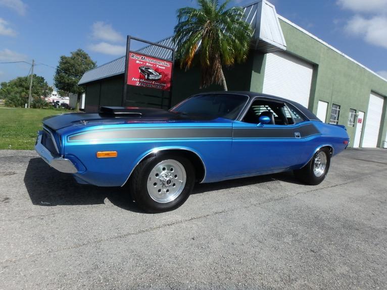 Used 1973 Dodge Challenger for sale $24,900 at Rose Motorsports, Inc. in Fort Myers FL