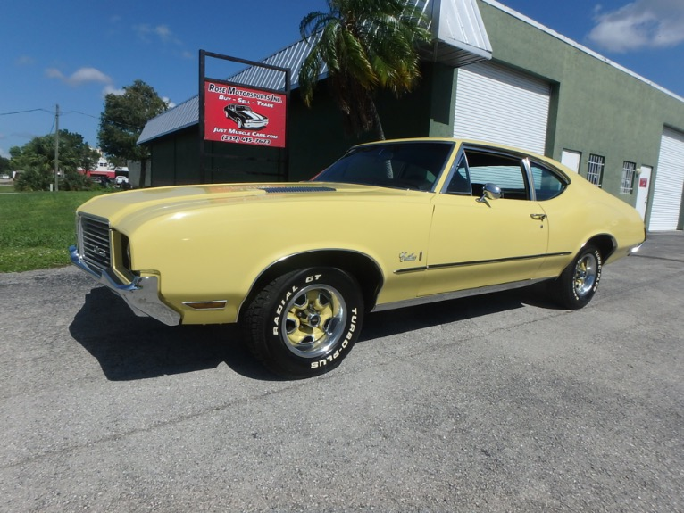 Used 1972 Olds Cutlass for sale $18,900 at Rose Motorsports, Inc. in Fort Myers FL