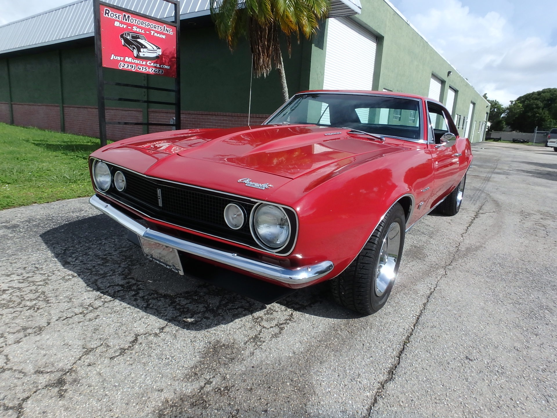 Used 1967 Chevy Camaro