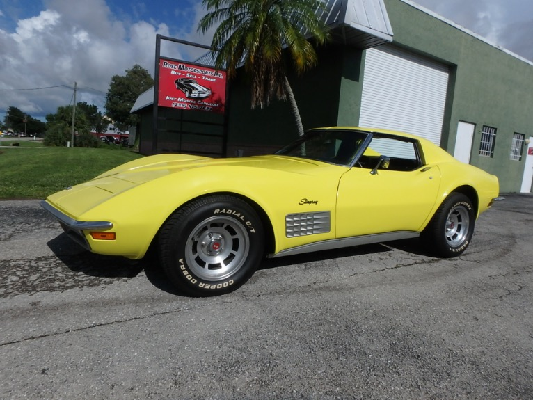 Used 1971 Chevy Corvette for sale $18,900 at Rose Motorsports, Inc. in Fort Myers FL