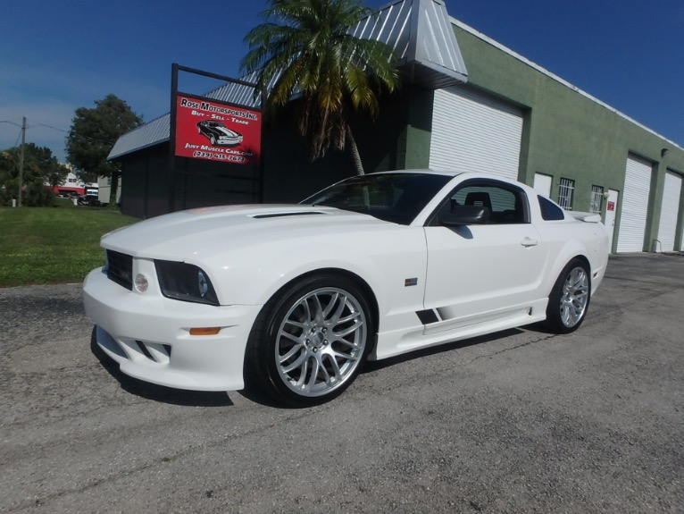 Used 2005 Ford Mustang Saleen GT Deluxe for sale $28,500 at Rose Motorsports, Inc. in Fort Myers FL