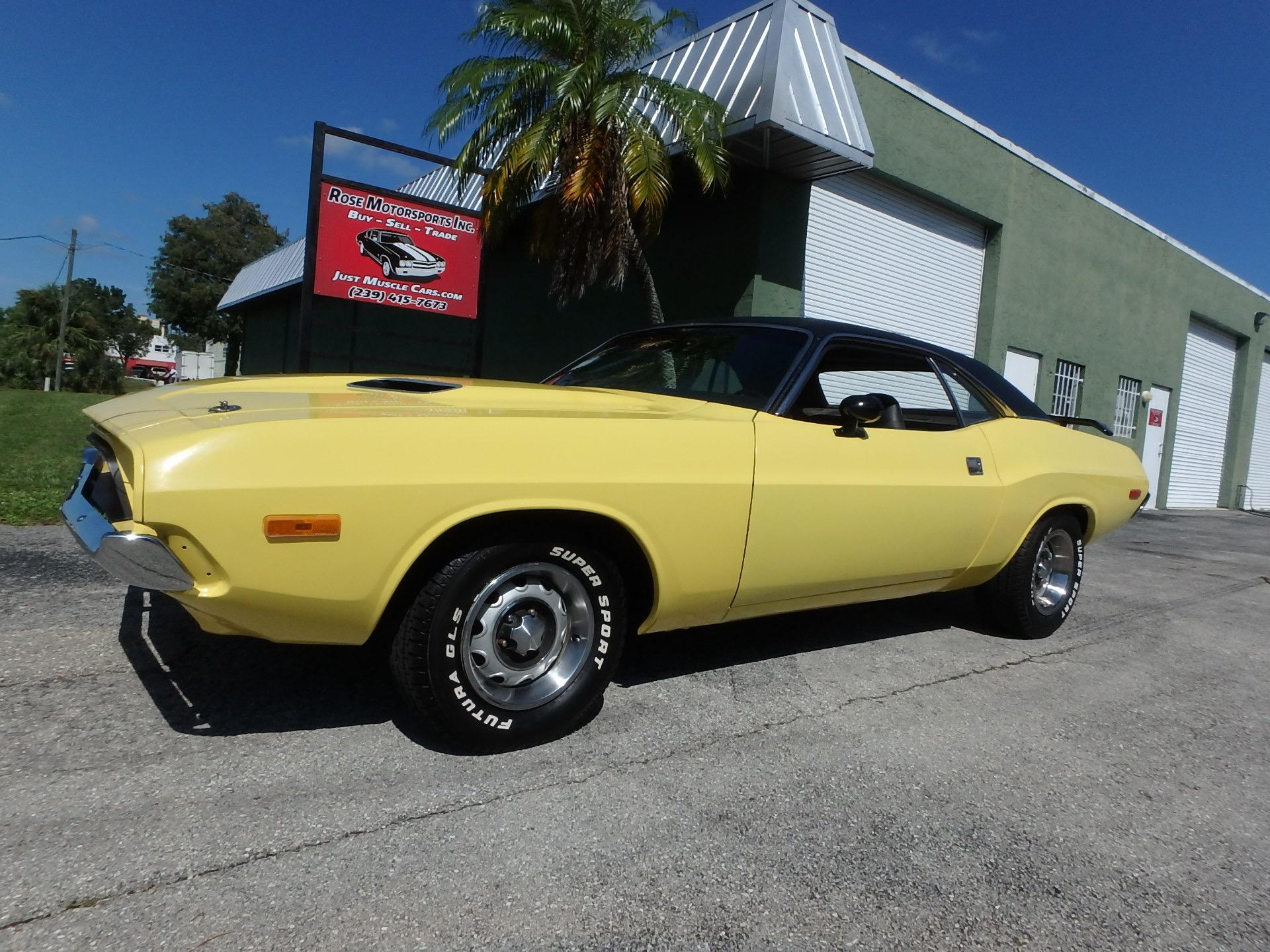 Used 1973 Dodge Challenger