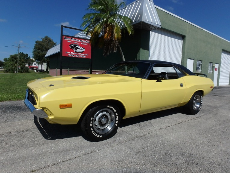 Used 1973 Dodge Challenger for sale $27,900 at Rose Motorsports, Inc. in Fort Myers FL