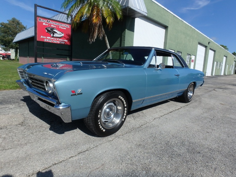 Used 1967 Chevy Chevelle SS for sale $28,900 at Rose Motorsports, Inc. in Fort Myers FL