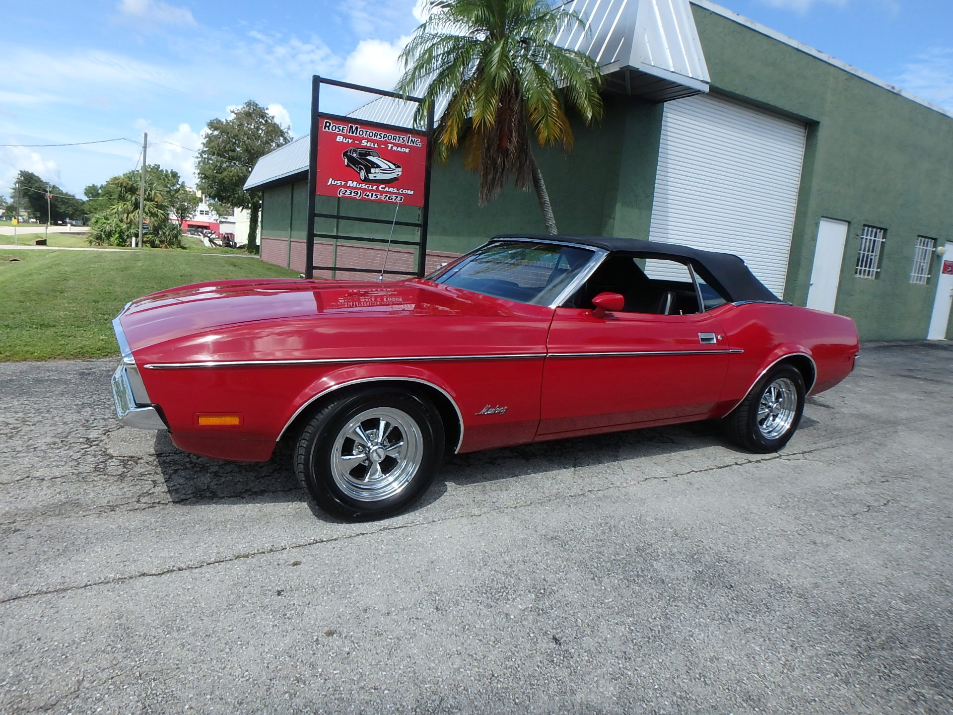 Used 1971 Ford Mustang Convertible For Sale 18 900 Rose Motorsports Inc Stock 2376