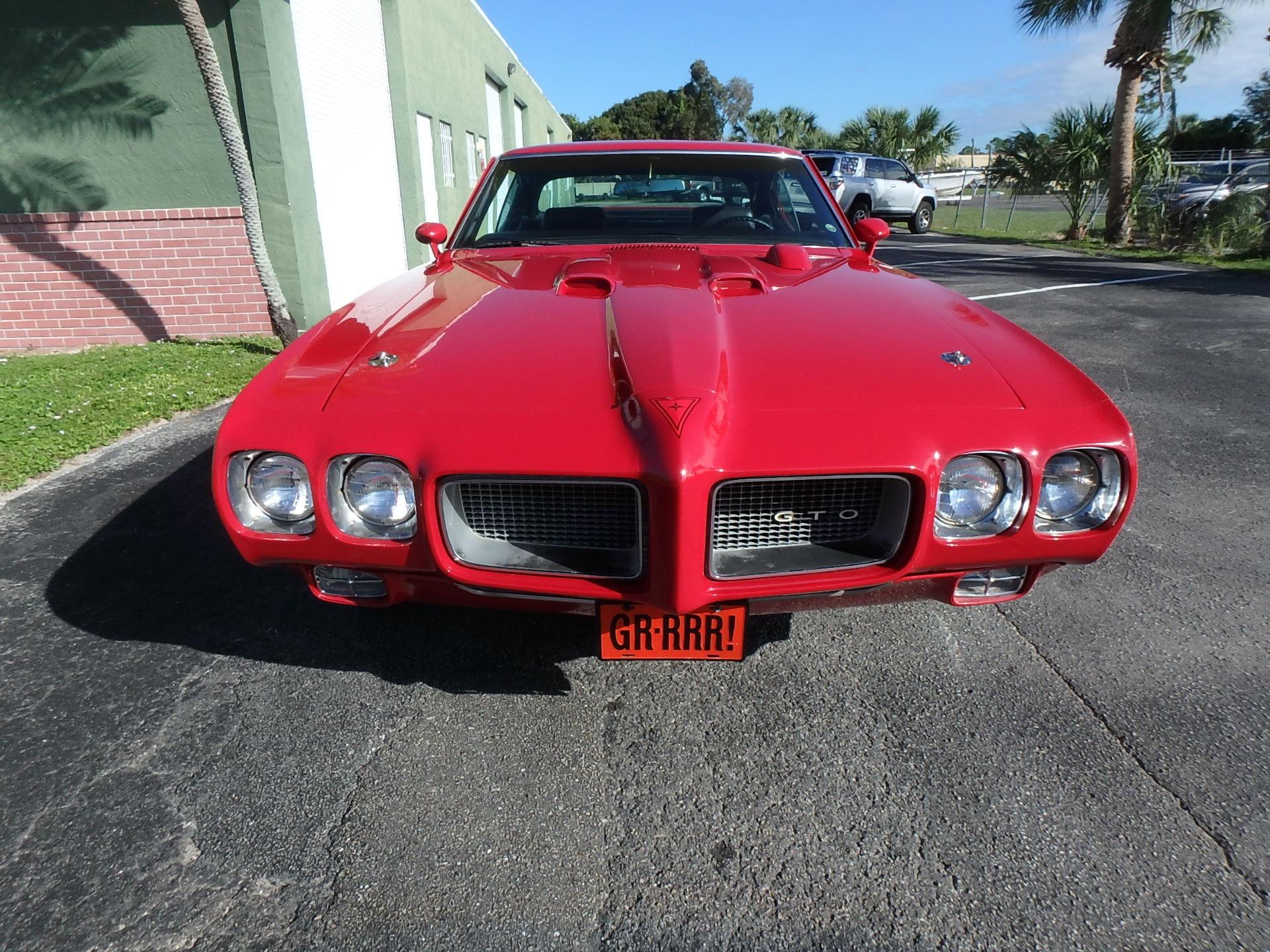 Used 1970 Pontiac GTO