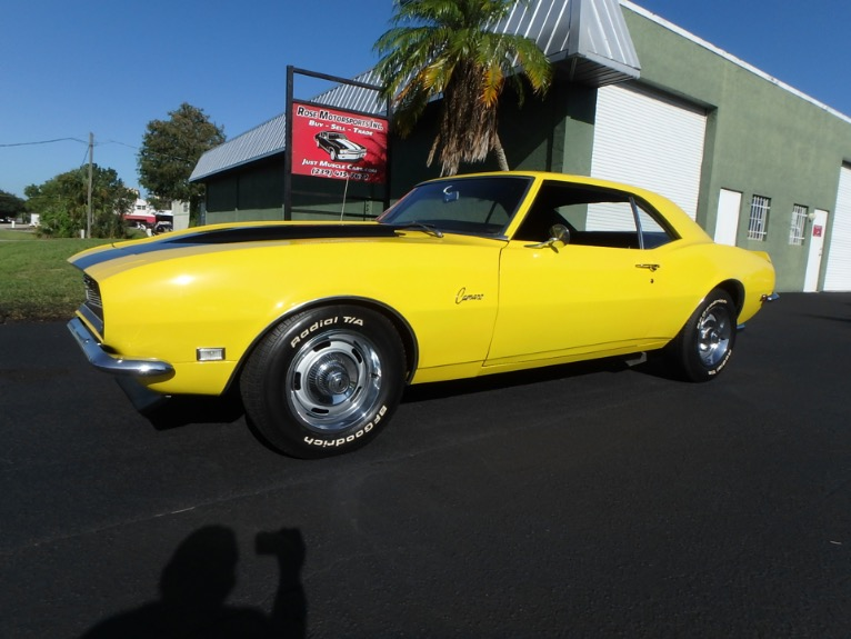 Used 1968 Chevy Camaro SS for sale $25,900 at Rose Motorsports, Inc. in Fort Myers FL
