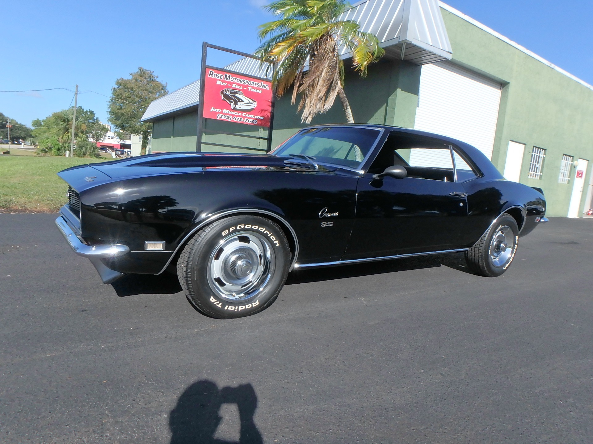 Used 1968 Chevy Camaro SS