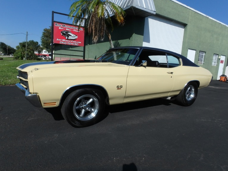 Used 1970 Chevy Chevelle SS for sale $32,000 at Rose Motorsports, Inc. in Fort Myers FL