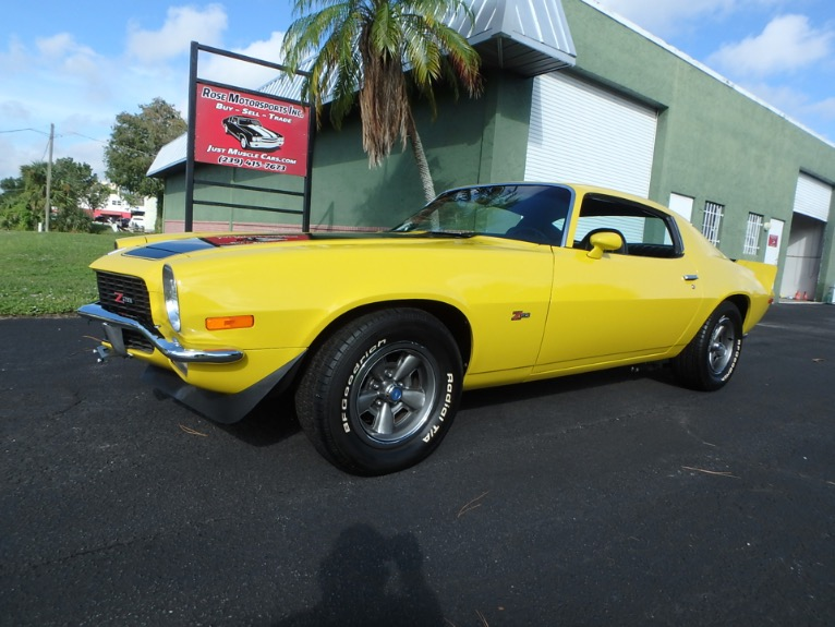 Used 1971 Chevy Camaro Z28 for sale $27,500 at Rose Motorsports, Inc. in Fort Myers FL