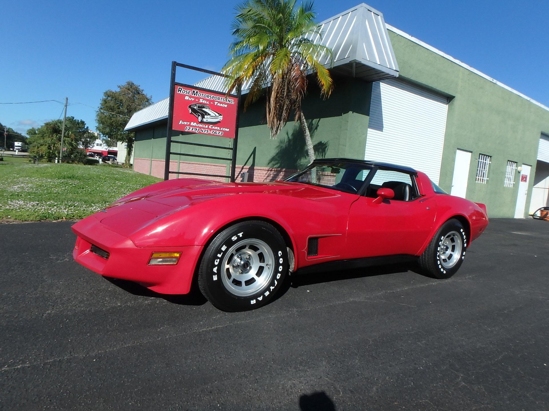 Used 1981 Chevy Corvette