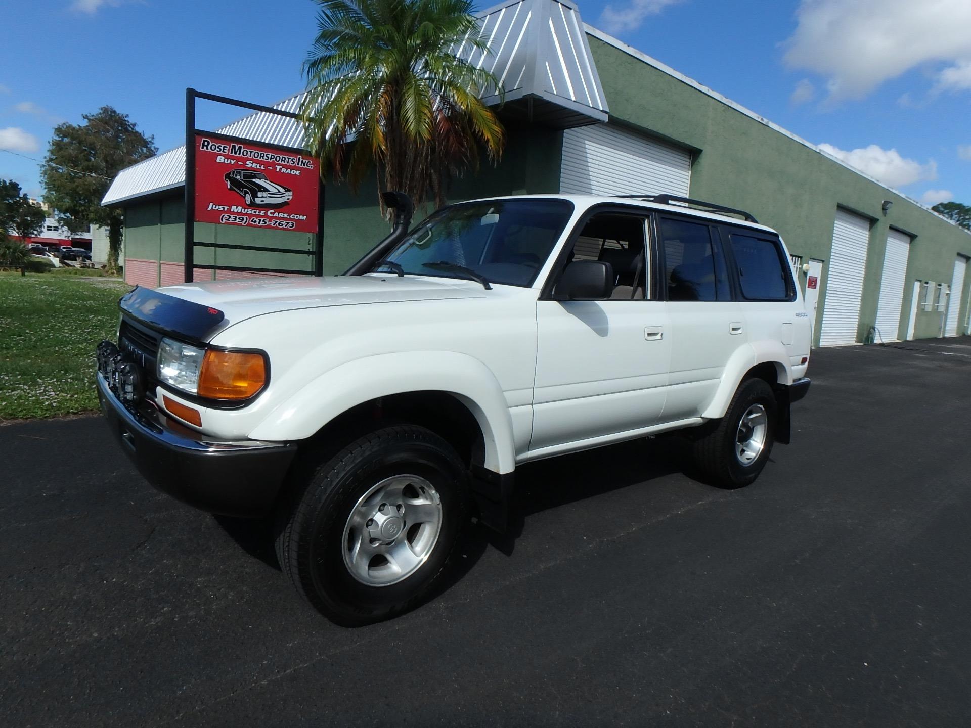 Used 1993 Toyota Land Cruiser FJ80