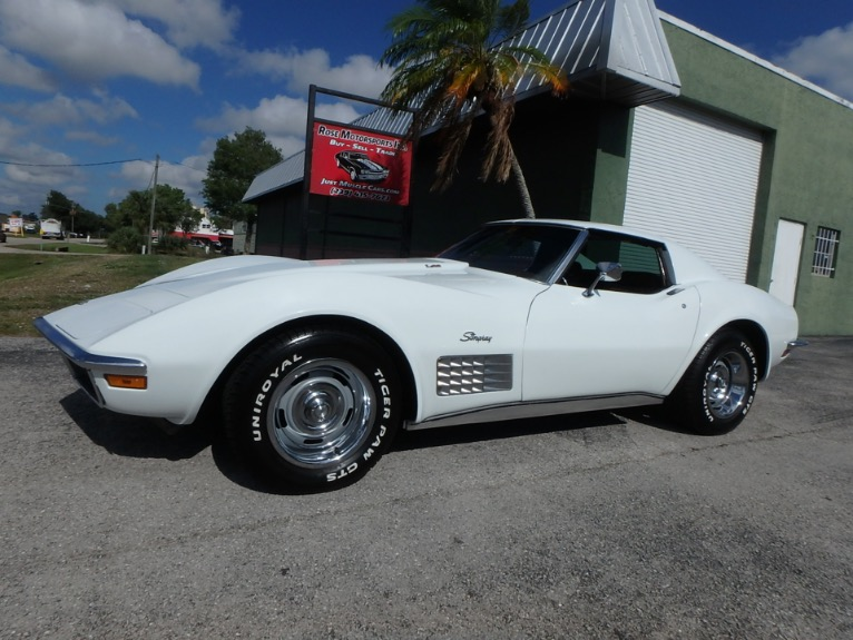Used 1972 Chevrolet Corvette Stingray for sale $23,900 at Rose Motorsports, Inc. in Fort Myers FL