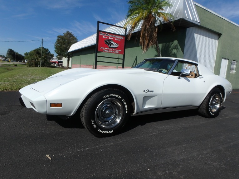 Used 1975 Chevy Corvette T-Tops for sale $13,900 at Rose Motorsports, Inc. in Fort Myers FL