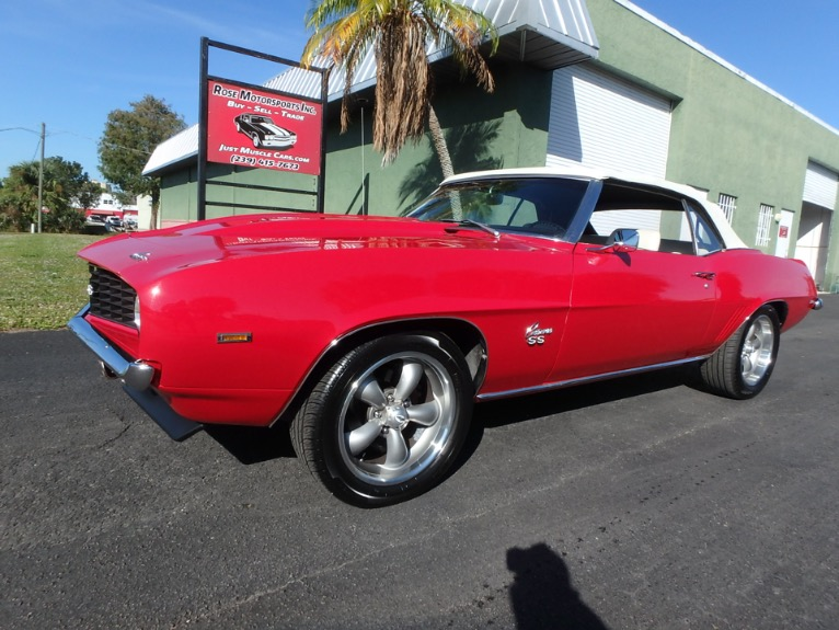 Used 1969 Chevy Camaro Convertible for sale $35,000 at Rose Motorsports, Inc. in Fort Myers FL