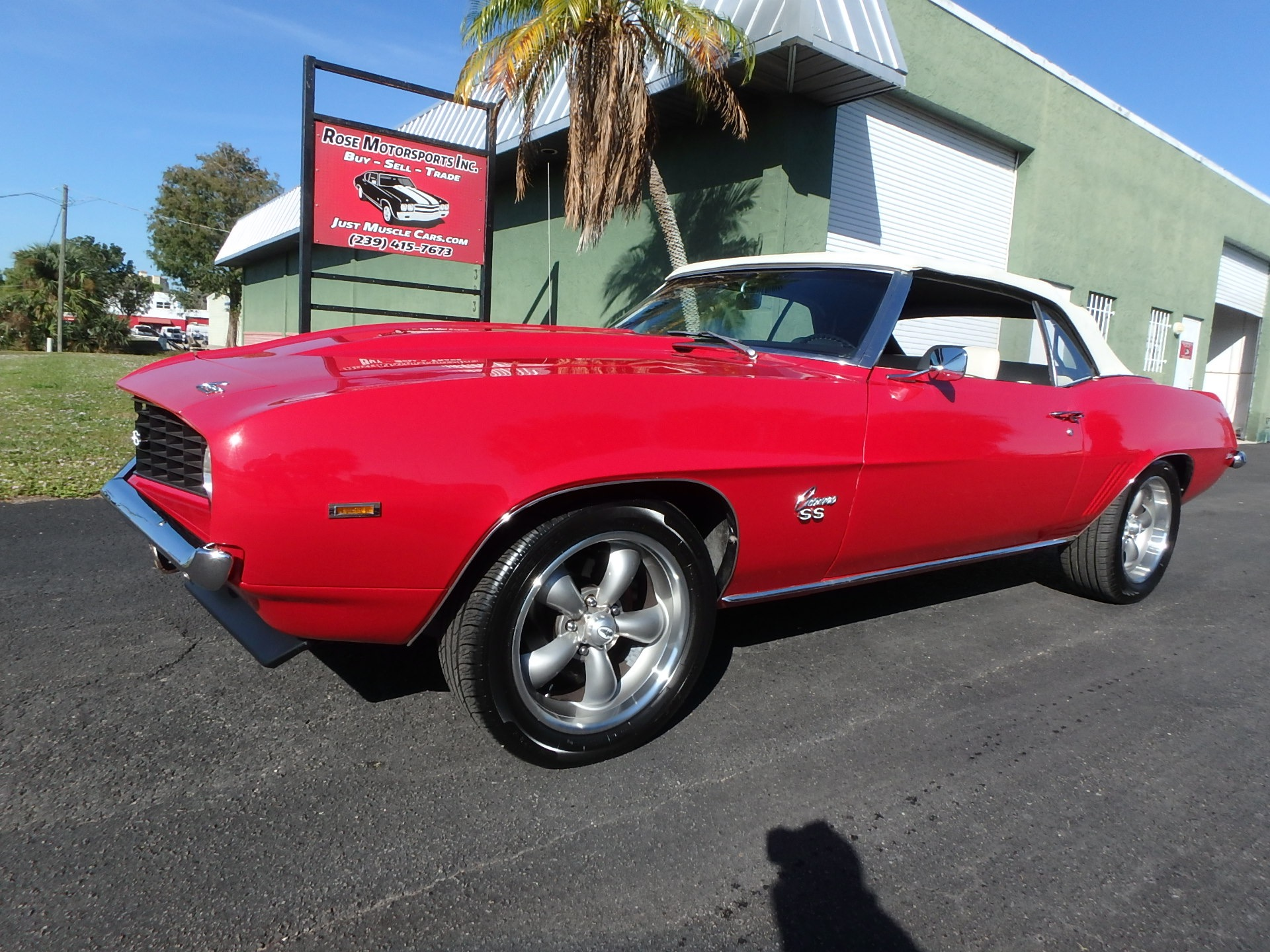 Used 1969 Chevy Camaro Convertible