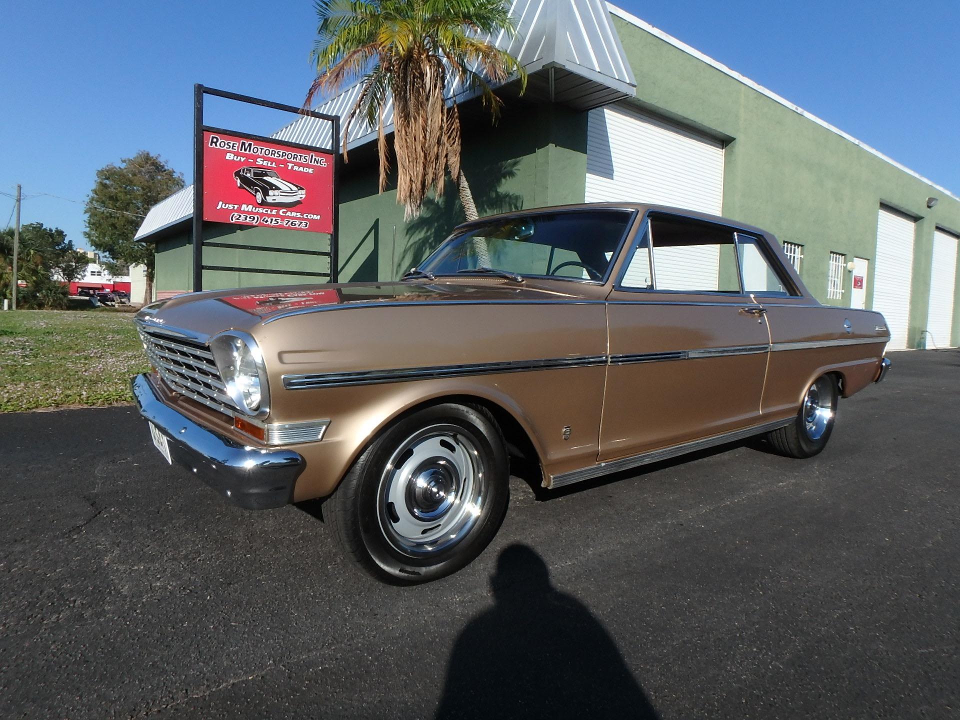 Used 1963 Chevy II Nova SS