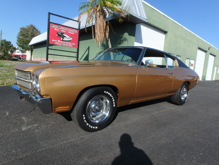 Used 1970 Chevy Chevelle Malibu for sale $18,900 at Rose Motorsports, Inc. in Fort Myers FL