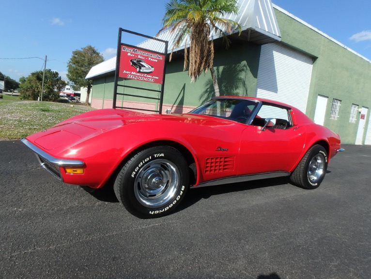 Used 1972 Chevy Corvette for sale $24,900 at Rose Motorsports, Inc. in Fort Myers FL