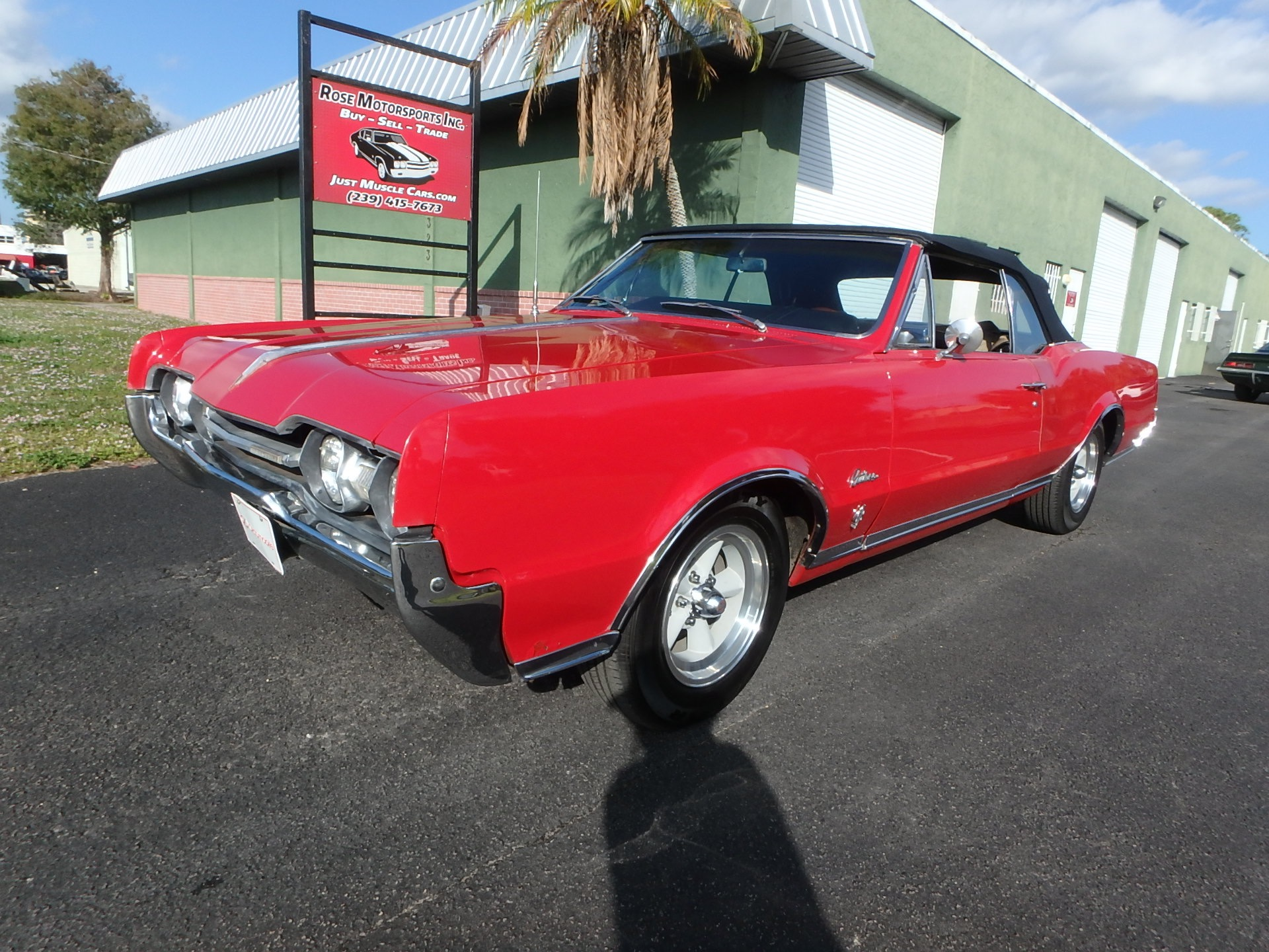 Used 1967 Oldsmobile Cutlass Convertible