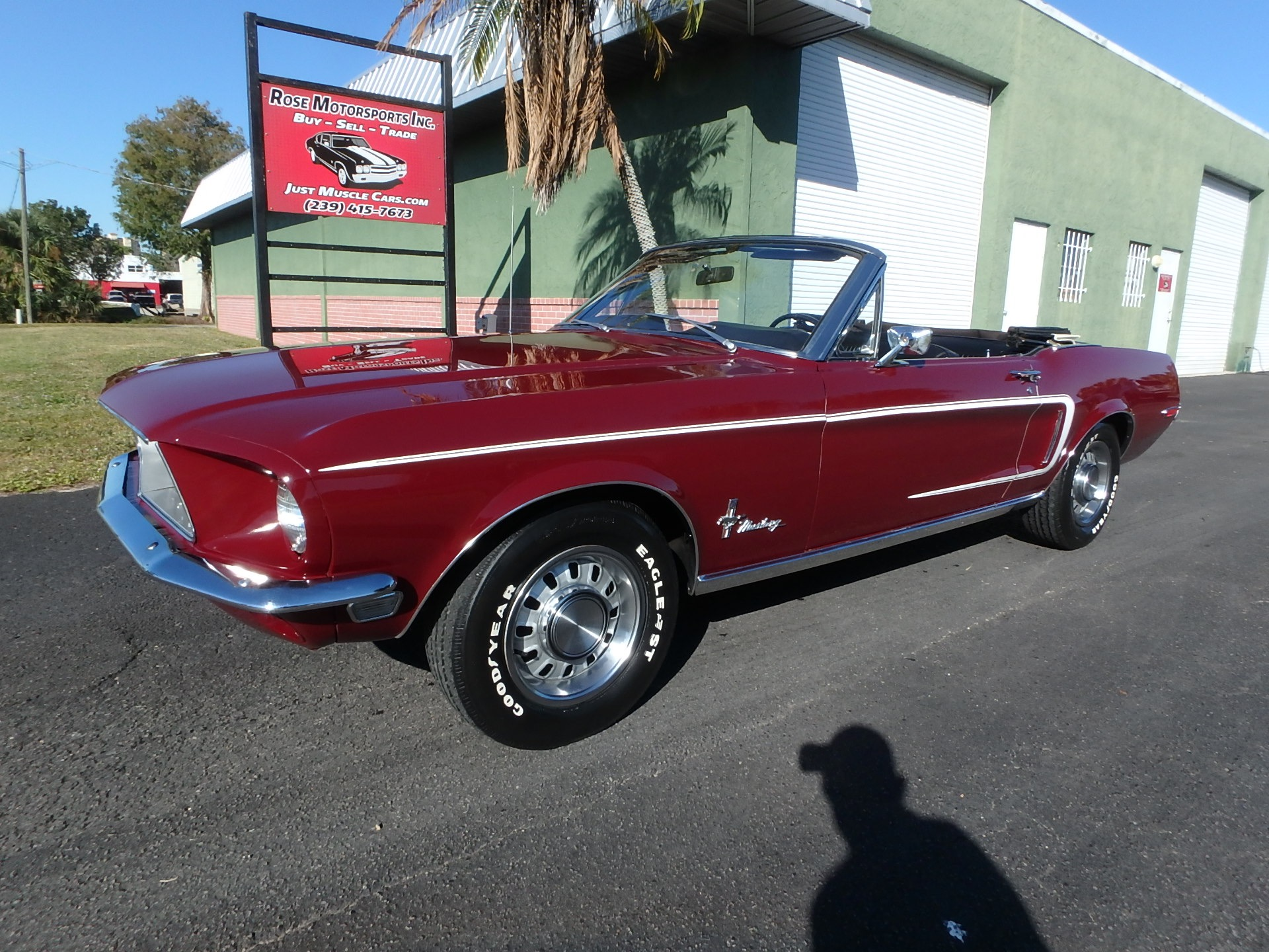 Used 1968 Ford Mustang Convertible