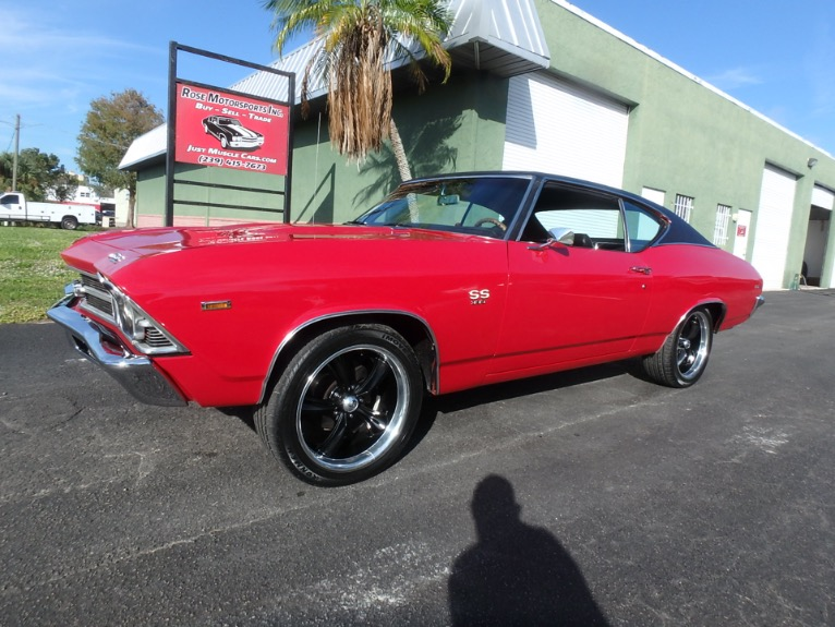 Used 1969 Chevy Chevelle SS396 for sale $26,900 at Rose Motorsports, Inc. in Fort Myers FL