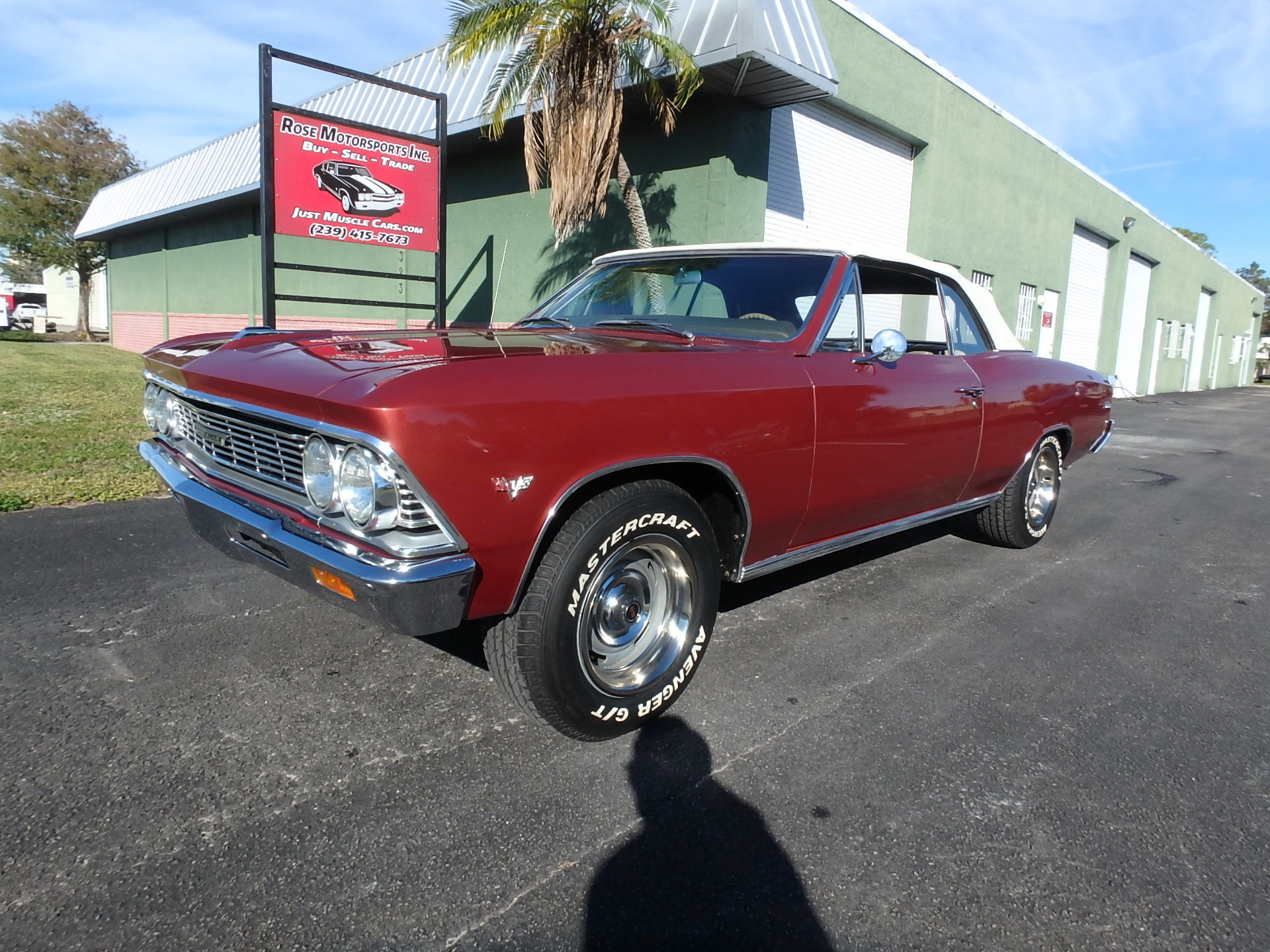 Used 1966 Chevy Chevelle Convertible