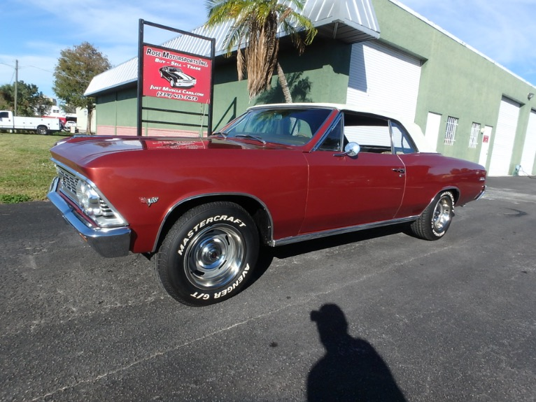 Used 1966 Chevy Chevelle Convertible for sale $27,900 at Rose Motorsports, Inc. in Fort Myers FL